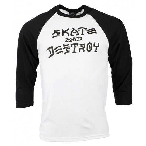 SKATE AND DESTROY - 3/4 SLEEVE