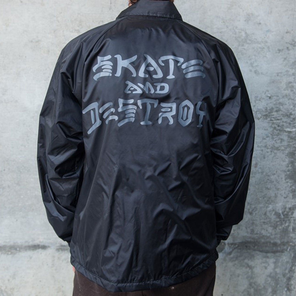 SKATE AND DESTROY - COACHES JACKET