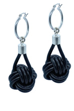 Load image into Gallery viewer, KNOT PENDANT EARRINGS