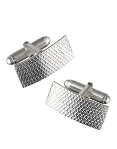CHEQUERED CUFFLINKS