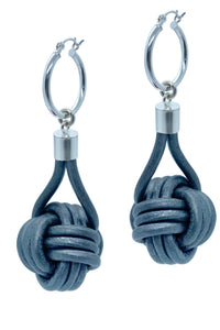KNOT PENDANT EARRINGS