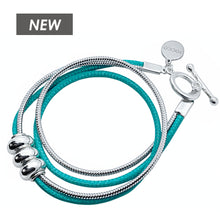 Load image into Gallery viewer, TURQUOISE WRAP BRACELET