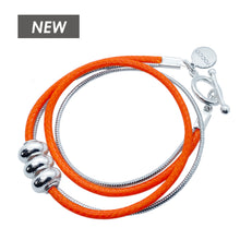 Load image into Gallery viewer, ORANGE WRAP BRACELET