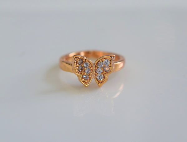 Kid's Butterfly Ring