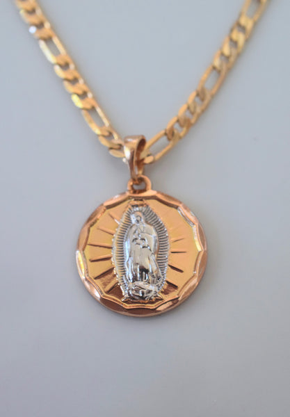 Two Tone Mary Medal