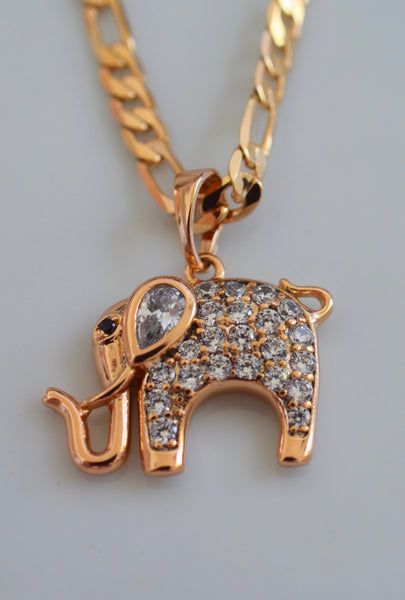 Evi Elephant Necklace