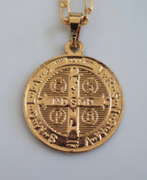Saint Ben Medallion