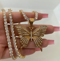 Rodeo Drive Butterfly (Plus Free Extra Chain)