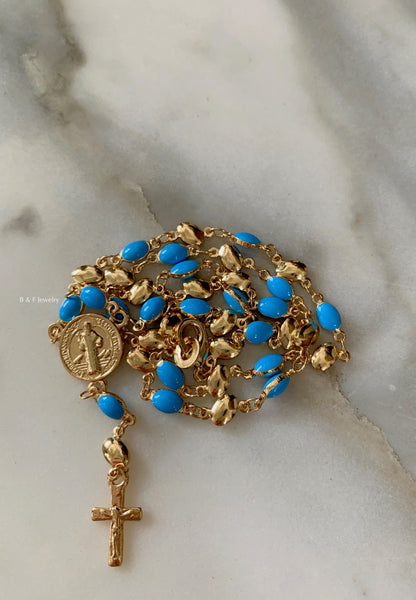 Something Blue Rosary