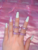 Pink Ice Eternity Band