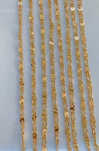 Gold Plated 20 Inch Chain