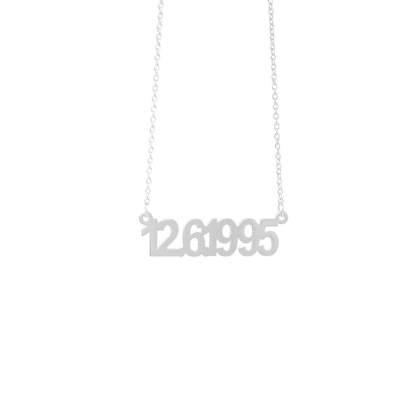 Birthday / Anniversary Necklace - Mayblu