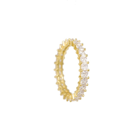 Frosted Eternity Band - Mayblu