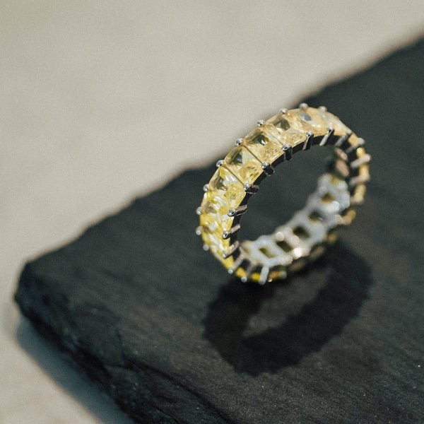 Yellow Eternity Band - Mayblu