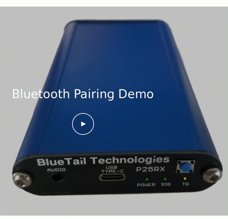 Bluetooth Pairing Demo