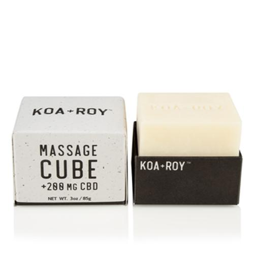 MASSAGE CUBE + CBD massage Cube KOA + ROY