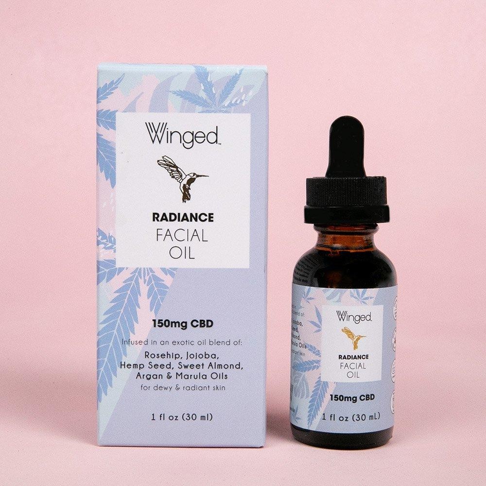Radiance Facial Oil Skin oil Winged