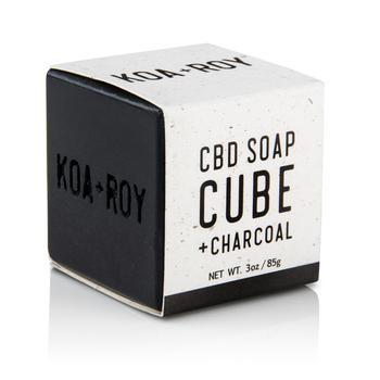 SOAP CUBE + CHARCOAL Soap KOA + ROY
