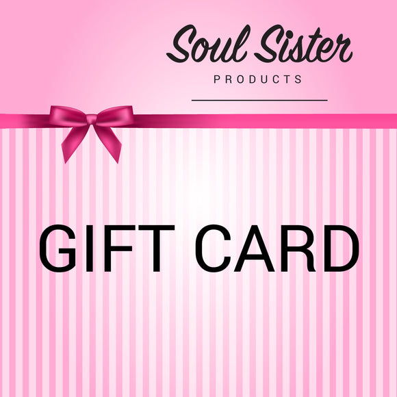 Gift Card Soul Sister Products