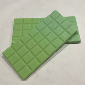 Wax Melts Snap Bar scented ORGANIC CILANTRO & LIME