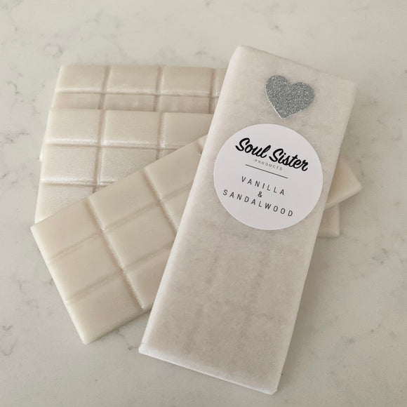 Wax Melts Mini Snap VANILLA & SANDALWOOD