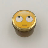 Rolling Eyes Emoji Candle Travel Tin scented candle