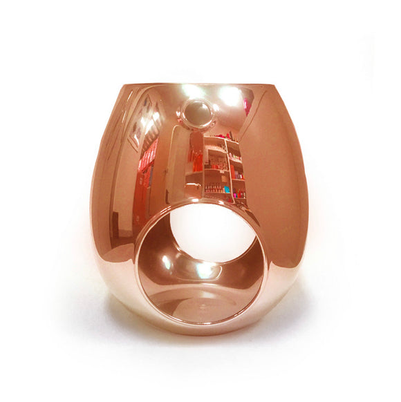 Melt and Oil Burner Metallic Rose Gold