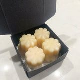 Wax Melts Shapes Pack of 8 Flower Shape Wax Melts CARAMEL FRAPPUCCINO