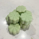 Wax Melts Shapes Pack of 8 Flower Shape Wax Melts LEMONGRASS & SAGE
