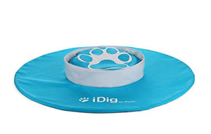 iFetch R-100 iDig Go Digging Toy, IFetch Blue and White, One Size - Petizon