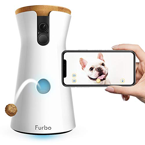 Furbo Dog Camera: Treat Tossing, Wifi Pet Camera and 2-Way Audio, Compatible with Alexa - Petizon