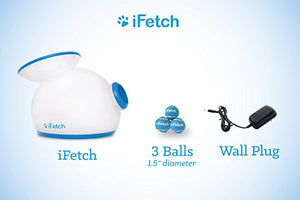 iFetch Interactive Ball Launcher for Dogs – Launches Mini Tennis Balls, Small - Petizon