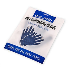 Load image into Gallery viewer, Pet Grooming Glove - Gentle Deshedding Brush Glove - Fast Pet Hair Removal Glove for Dog & Cat with Long & Short Fur Deshedding Brush - Petizon