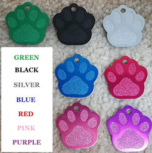 Load image into Gallery viewer, Pet ID Tag Custom for Dog Cat Personalized | Many Shapes and Colors to Choose From | Made in USA | Strong Anodized Aluminum - Petizon