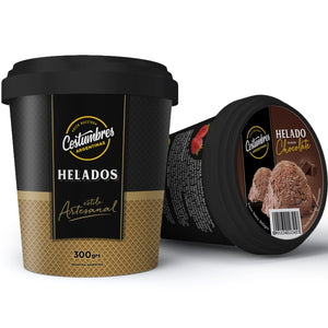 Helado de Chocolate x 300 Gr.