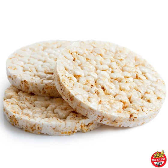 Galletas de Arroz sin sal x 90 gr