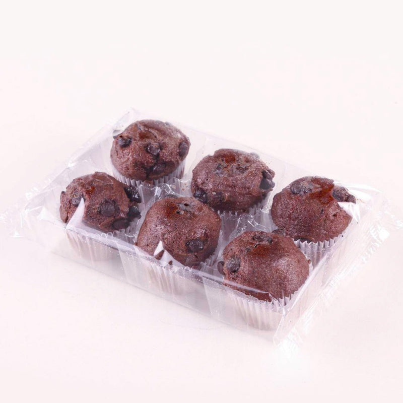 Mini Muffin Chocolate x 6 un