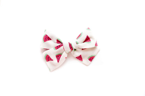 Watermelon - Hand Tied Bow