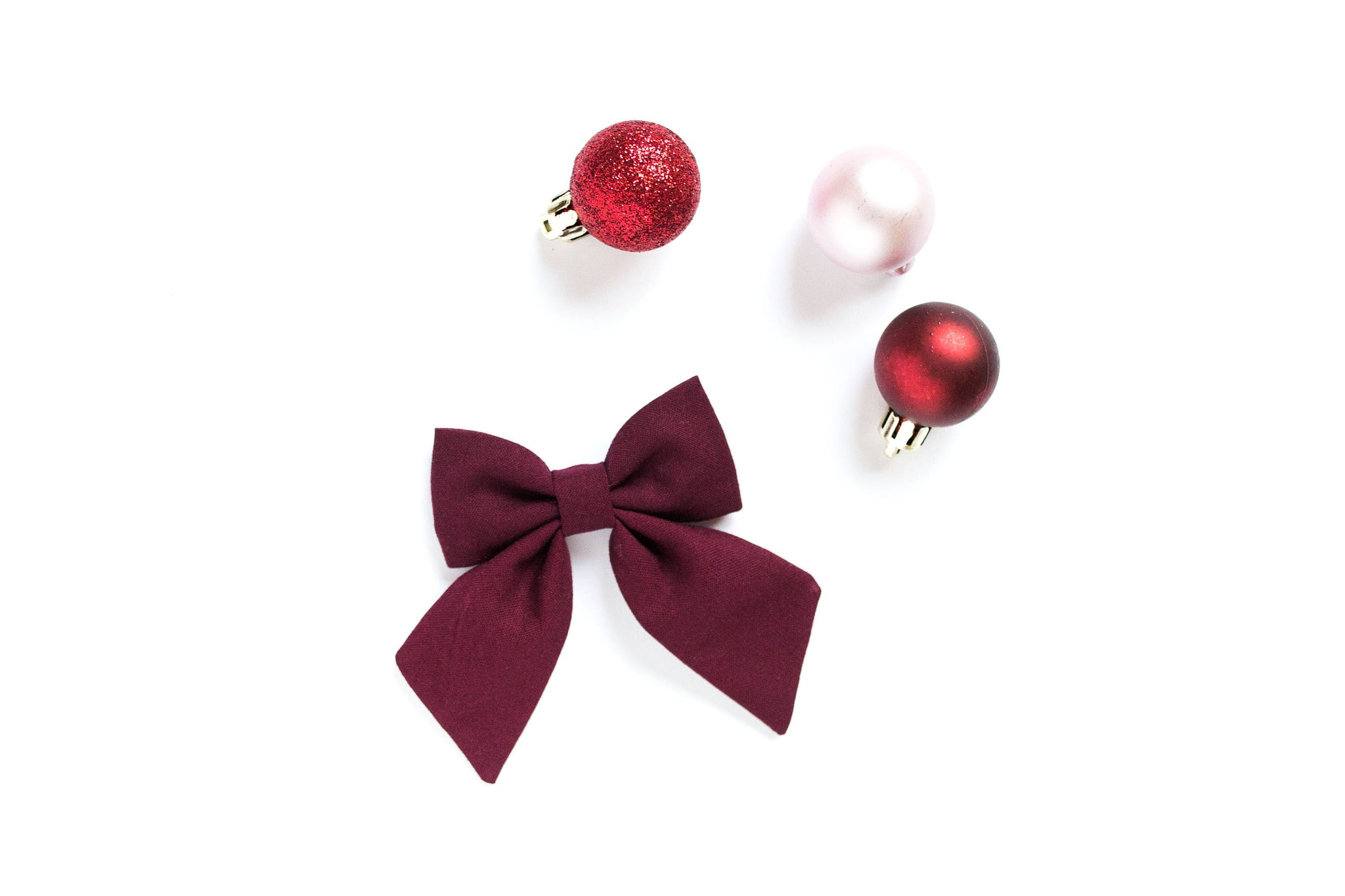 Maroon - Sailor Bow