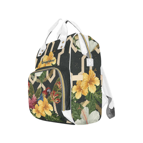 Tropical Bliss Multi-Function  Diaper Bag Backpack