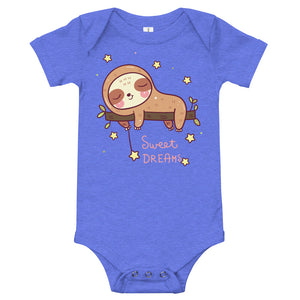 Sloth Sweet Dreams Onesie