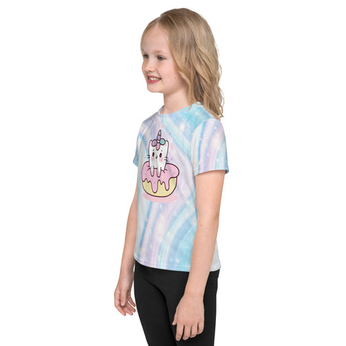 Caticorn Donut Galaxy Toddler T-Shirt
