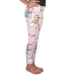 Kitty Rainbow Dessert Leggings