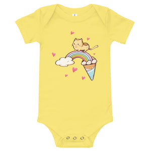 Kitty Rainbow Crossing Onesie