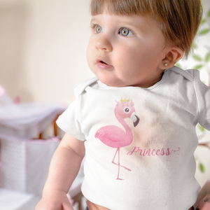 Little Princess Flamingo Onesie