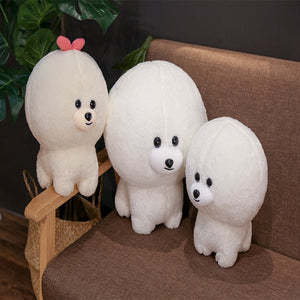 Kawaii bichon dog plush