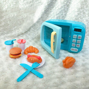 Toy Microwave Play Set