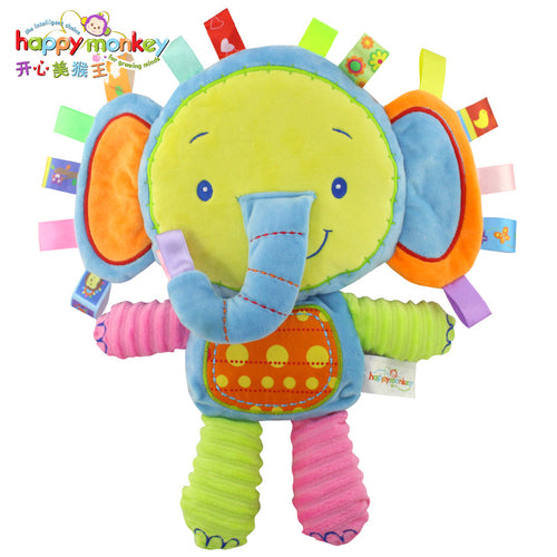 Cute Plush Rattle Toy