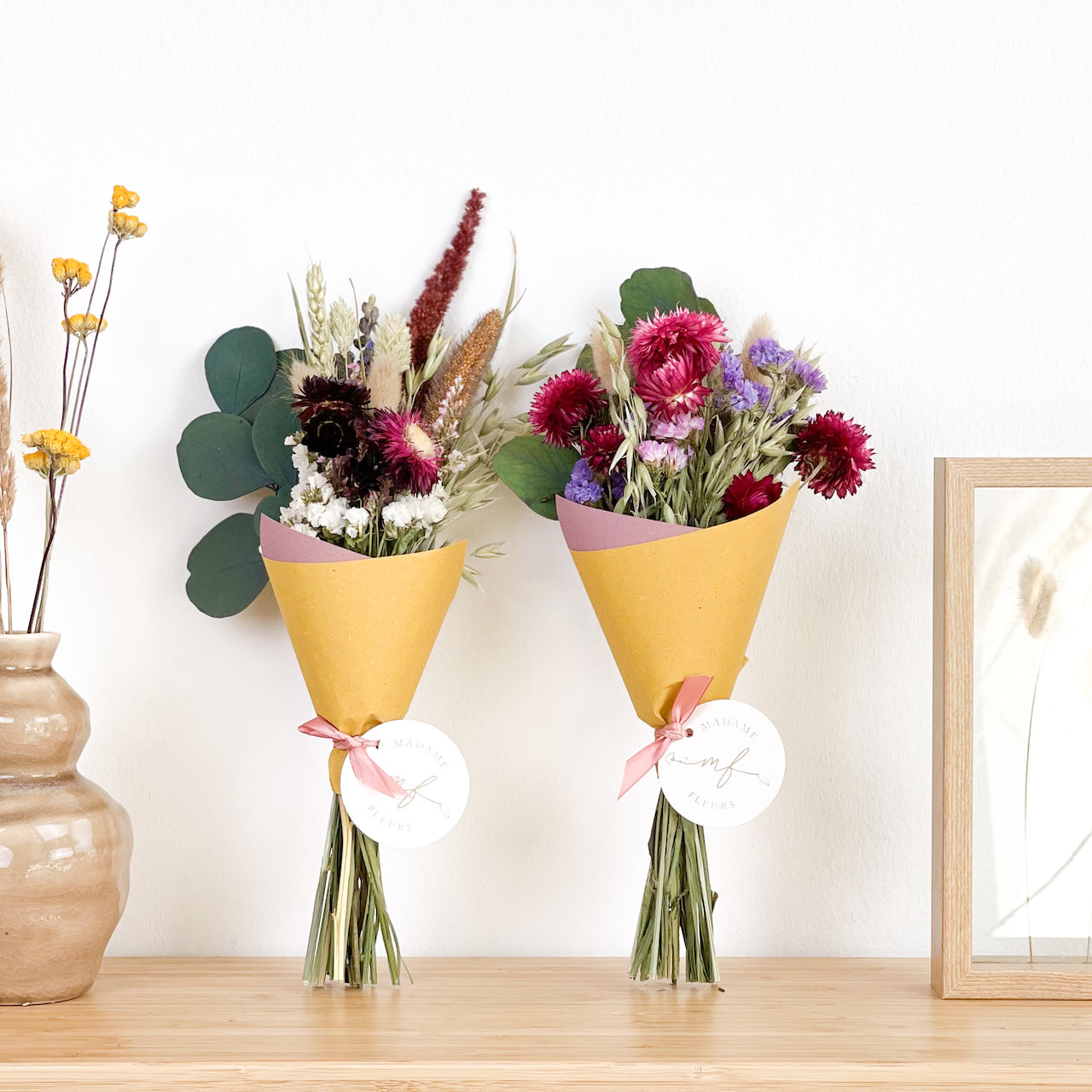 Love Gift-Set Dried Flowers Bouquets
