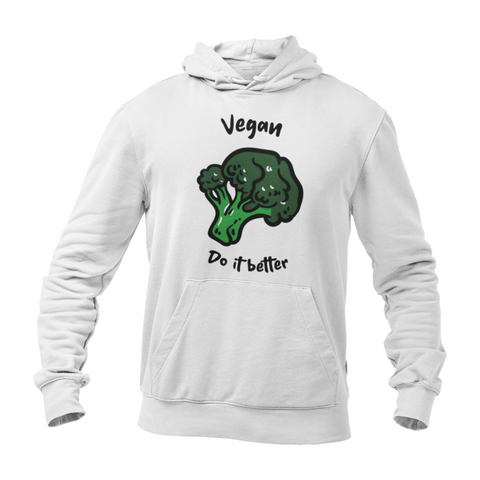 Hoodie végan <br> Vegan Do It Better